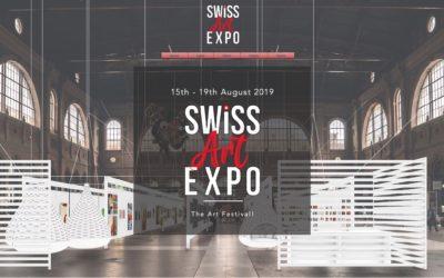 Capsun-Art an der SWISS ART EXPO in Zürich!