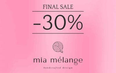 Sommer-Ausverkauf bei Mia Mélange! Profitiere jetzt!