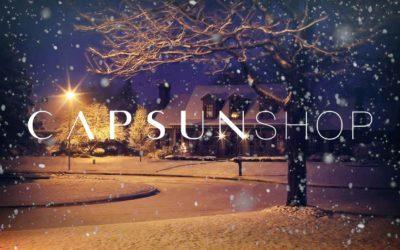 Capsunshop aux marchés de Sion et de Noël 2019