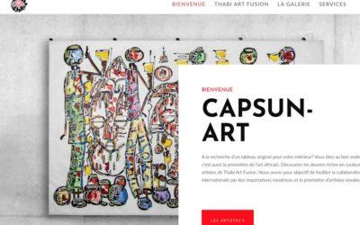 Le site web capsun-art.ch a été rafraîchit!