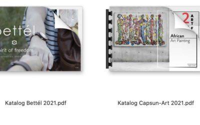 Nos catalogues maintenant disponibles en Allemand et en Français